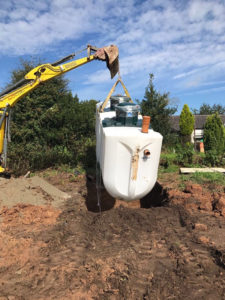 septic tank installation thame